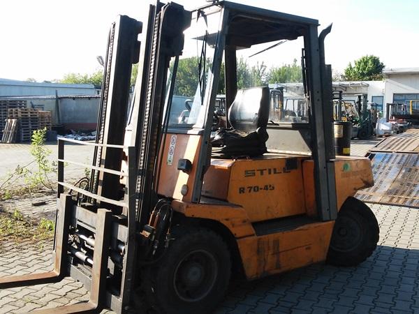 Zaktualizowano Wózek widłowy Still R70-45 QB53